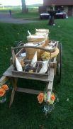 popcorn bar cart